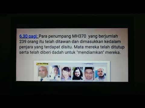 Teori Menarik Tragedi MH370