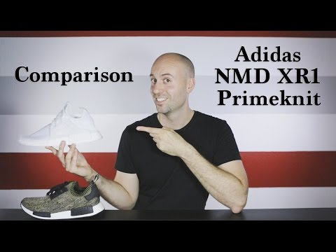 03a1bc97253a13 Adidas NMD Primeknit Olive Camo - Unboxing - Review - Close Up - On ...