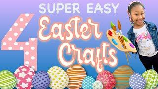 4 SUPER EASY EASTER CRAFTS FOR KIDS! 2020