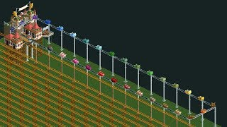 RCT2 - 12 Years Of Suffering - Longest roller coaster ever created