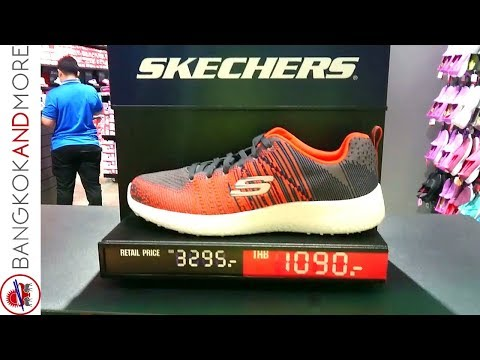 SHOE SHOPPING IN BANGKOK - Skechers, Lacoste and more...