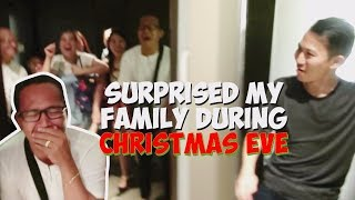 SURPRISE MY FAMILY ON CHRISTMAS EVE VLOG#06