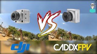 Caddx Air Unit Micro Vs. DJI Air Unit Camera (Watch In 4K)