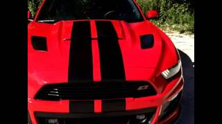 2016 Mustang GT with Roush Ford Racing Supercharger outside walk around.
