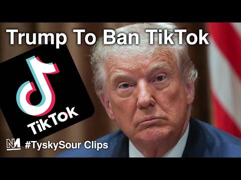 Trump To Ban TikTok