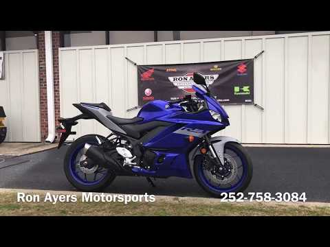 2020 Yamaha YZF-R3 ABS in Greenville, North Carolina - Video 1