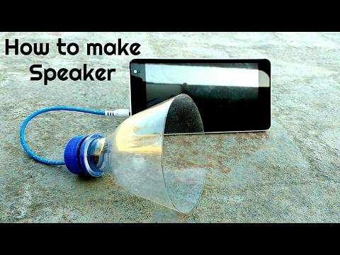 Πως να φτιάξετε ηχείο από ένα πλαστικό μπουκάλι