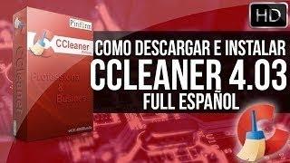 Descargar E Instalar CCleaner Professional Full Con Licencia. [32 & 64 Bits ]