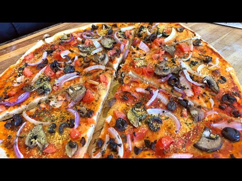 Vegan Pizza from Scratch – healthy recipe channel