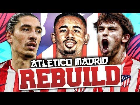 REBUILDING ATLETICO MADRID!!! FIFA 20 Career Mode