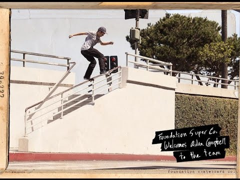 "preview image for Foundation Skateboards: Aidan Campbell ""Welcome Home"""