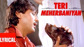 Teri Meherbaniyan Title Track Lyrical Video | Jackie Shroff
