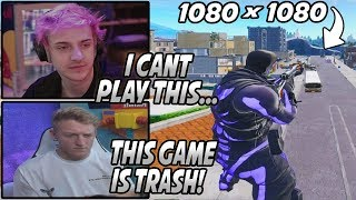 Tfue & Ninja DONE Supporting Epic After Finding Out STRETCHED RESOLUTION Got BANNED! (Ninja Quit!)