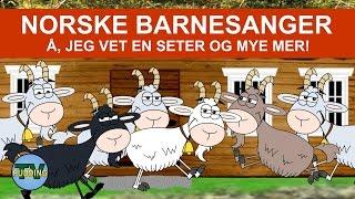 Barnesanger på norsk - Å, jeg vet en seter m.m. | 40+ min.
