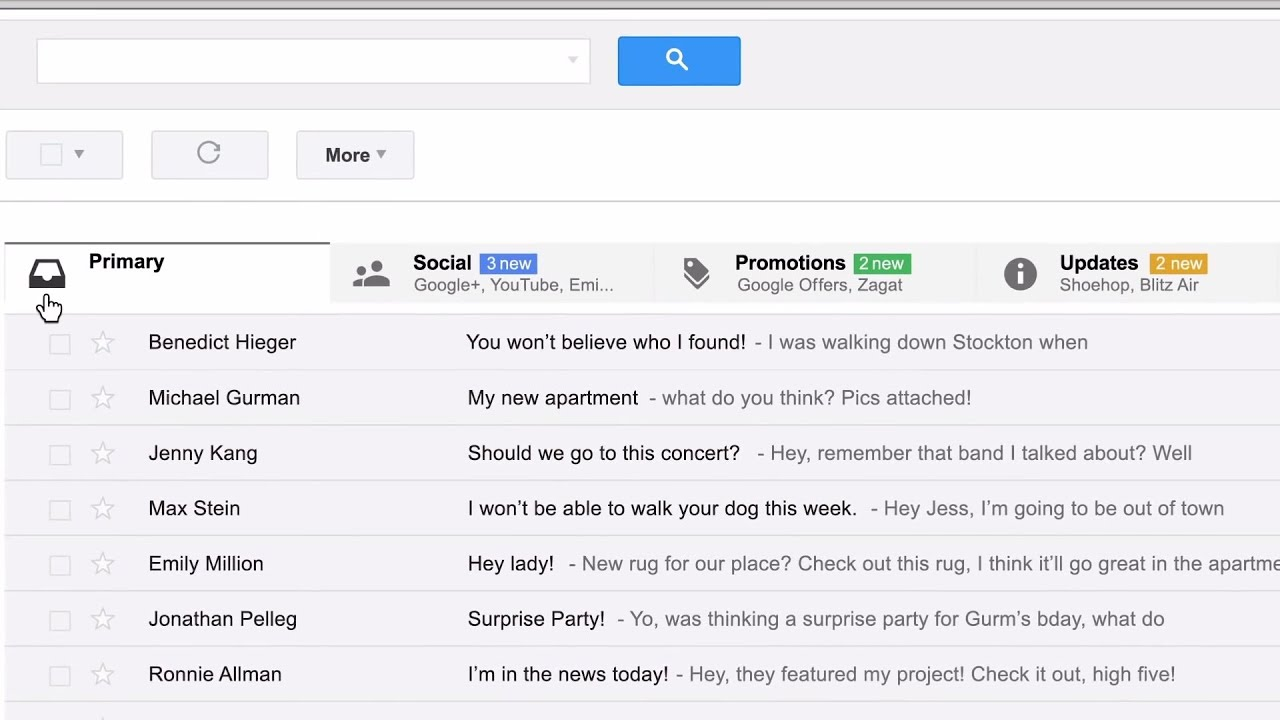 Meet Gmail's New Inbox