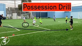 Possession DRILL | FULL TRAINING SESSION with Young Group | Joner 1on1 Football