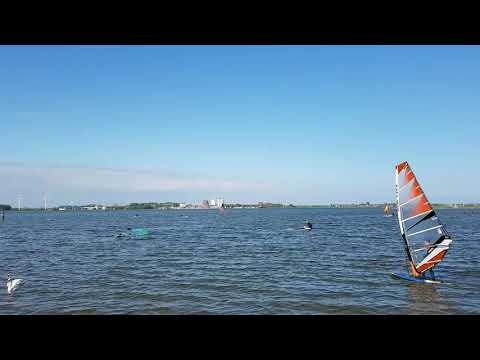 Surfen auf Fehmarn - Burger Binnensee