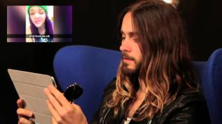 Jared Leto watches your Echelon videos!