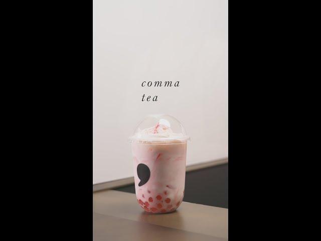 Comma Tea 商品PR