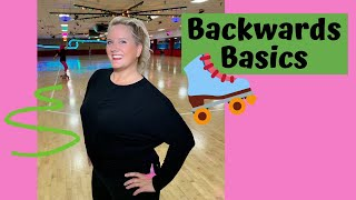 How to Roller Skate Backwards - the absolute basics