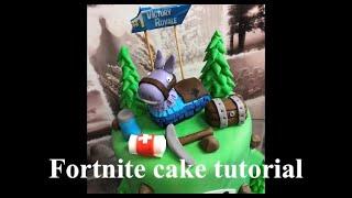 How to make FORTNITE cake. Step by step tutorial by Ela's Sweet Heaven