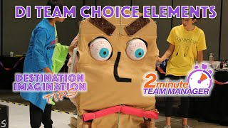 DI Team Choice Element examples
