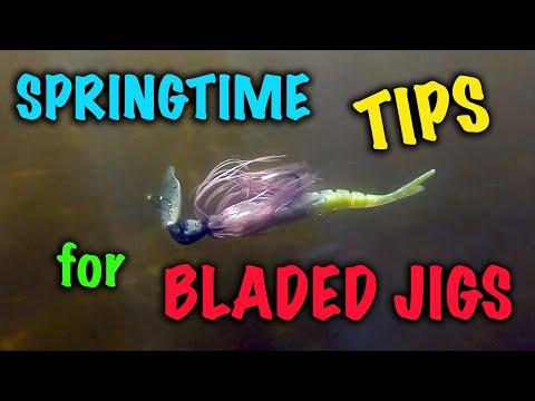 Springtime Tips for Bladed Jigs