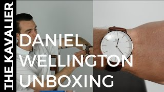 Daniel Wellington Unboxing & Quick Review | Classic Bristol 40mm Watch