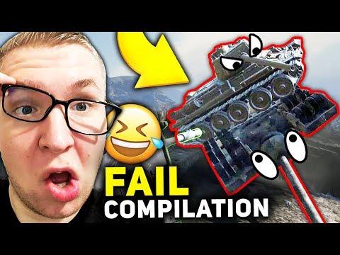 PATOLOGIA - Fail Compilation - World of Tanks