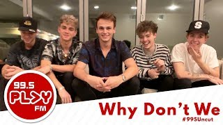 WHY DON'T WE takes on Who's Most Likely To questions! | #995UNCUT