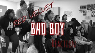 High Schoolers React to Red Velvet - Bad Boy MV