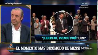 """MESSI SE NIEGA A APLAUDIR LOS CÁNTICOS DE """"¡LIBERTAD, PRESOS POLÍTICOS!"""""""