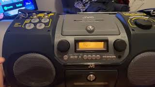 Reviewing the JVC RV-DP100