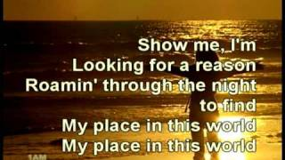 Place In This World - Michael W  Smith