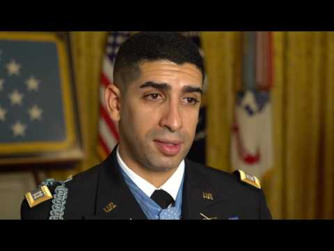 Behind the scenes with Medal of Honor Recipient Captain Florent Groberg
