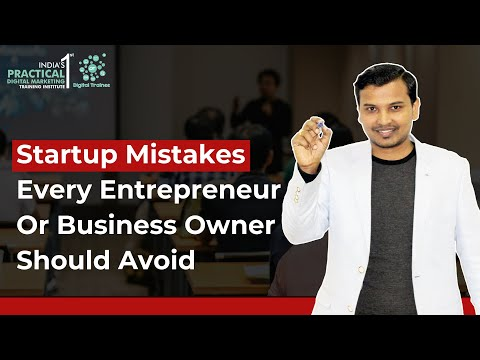 , title : 'Startup Mistakes Every Entrepreneur | Founder | Business Owner Should Avoid'