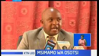 Osotsi awalaumu viongozi wa FORD Kenya na ANC kwa kuwapotosha wafuasi wao kuhusu muungano wa NASA