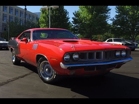 1971 plymouth cuda for sale cc 972861. Black Bedroom Furniture Sets. Home Design Ideas
