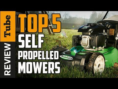 ✅Self propelled lawn mower: The best lawn mower 2018 (Buying guide)