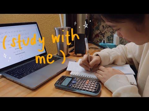 quarantine study vlog 📚 (learning calculus online!)