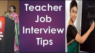 Teacher Recruitments Process & Tips By Dr.Devika Bhatnagar