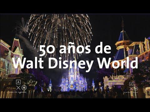 Disfruta De Un Recorrido Por Walt Disney World En Su 50 Aniversario
