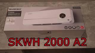 Silvercrest Keramik Heizlüfter SKWH 2000 A2 - Ausgepackt und Angetestet