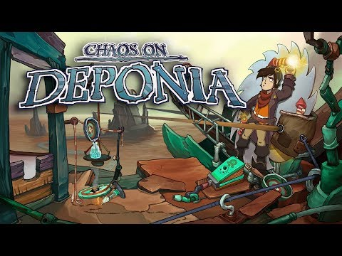 Chaos on Deponia - Console Release Trailer thumbnail