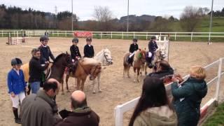 preview picture of video 'Erlantz A. y su caballo Espartacus-Liga Norte Mungia 2015'