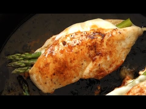 Asparagus Stuffed Chicken By I Wash You Dry
