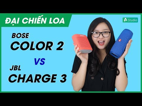 [Đại chiến loa] JBL Charge 3 vs Bose Soundlink Color 2 l Loa nào hơn?