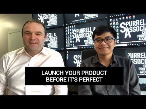 Edmonton Business Coach | Launch Your Product Before it's Perfect