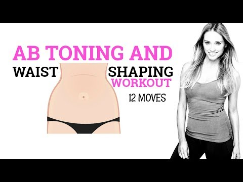 7 MINUTE  ABS AND WAIST WORKOUT FOR WOMEN - HOME WORKOUT