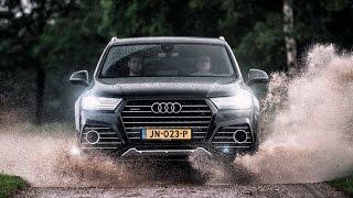 2016 Audi Q7 ABT QS7 Review | Hartvoorautos.nl | English Subtitled